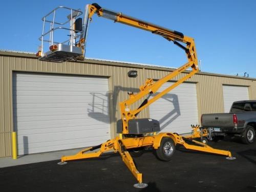 Towable Boom Lift 45 Foot Height Rentals Wichita Ks