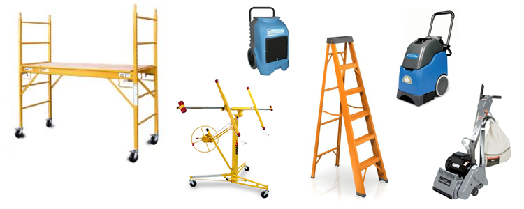 Equipment rentals in Wichita Kansas, Derby KS, Clearwater, Wellington, & Haysville